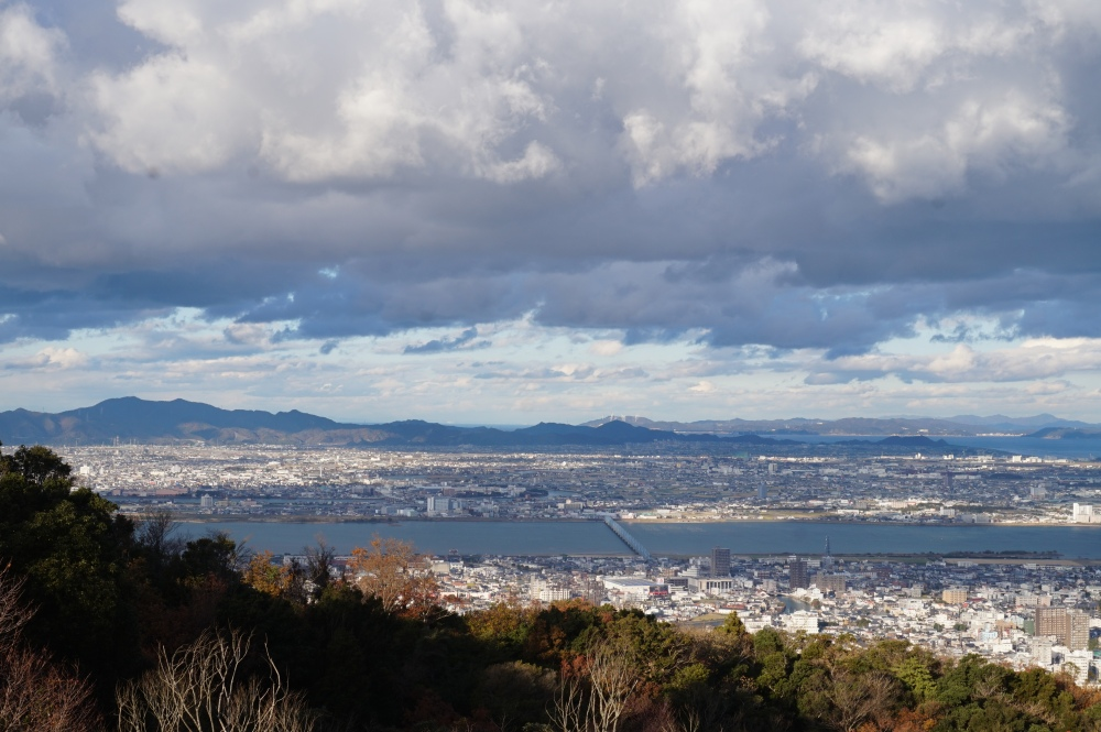 Tokushima Prefecture, View from Mt. Bizan