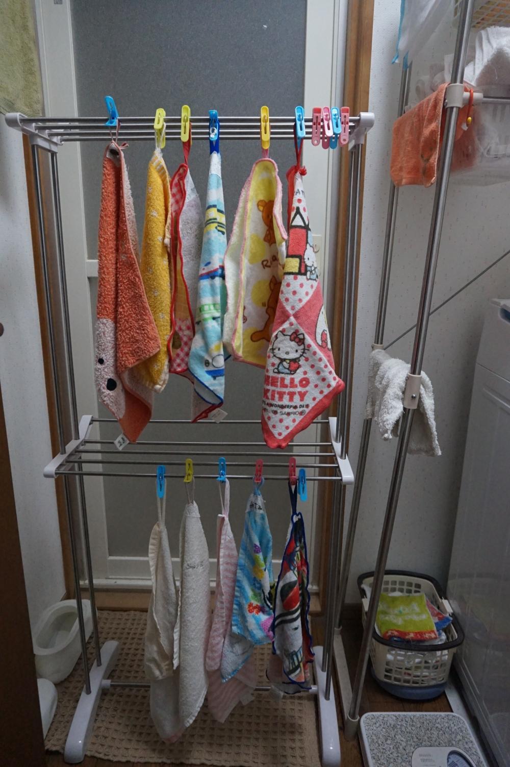 Japanese preschool handtowels