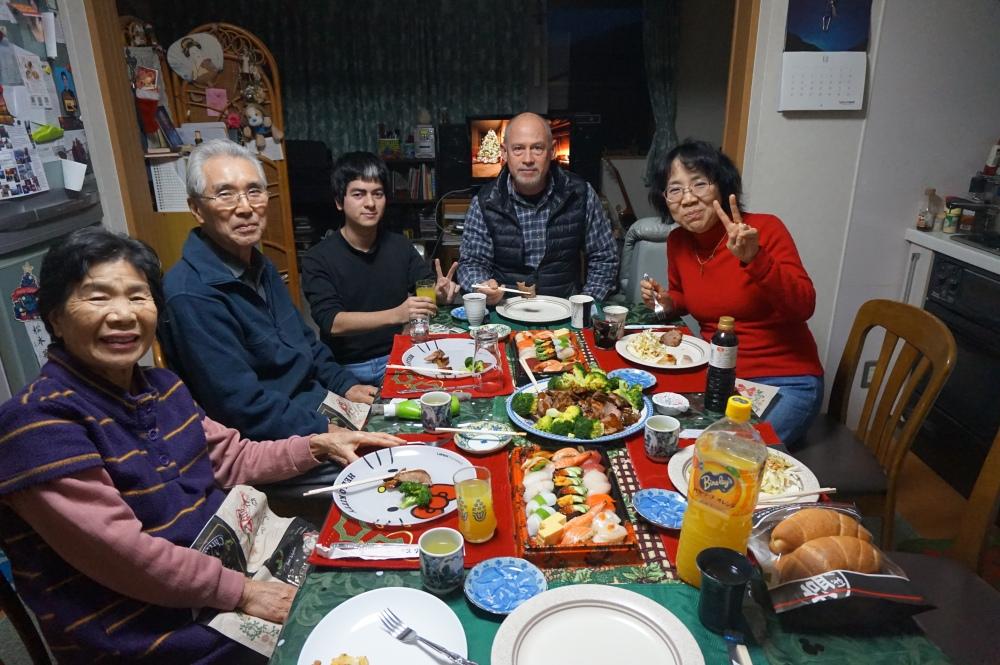 Christmas dinner in Japan